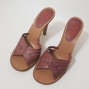 Michael Kors Women's Slip On Heels Sandals 6.5